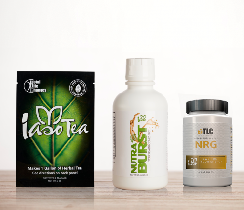 Energy Kit Iaso Tea Nutra Burst NRG