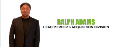 Ralph Adams Head Merger and Acquisition Division