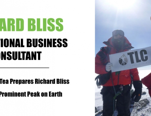Iaso® Tea Prepares Richard Bliss for 8th Most Prominent Peak on Earth